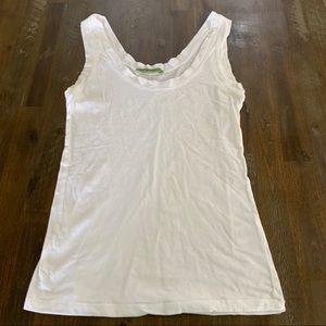 Basic white tank Velvet brand